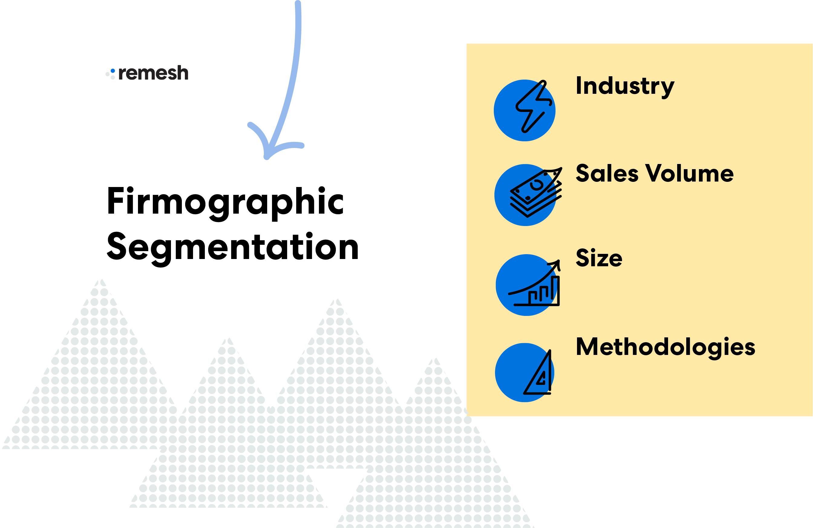 Firmographic Segmentation Visual