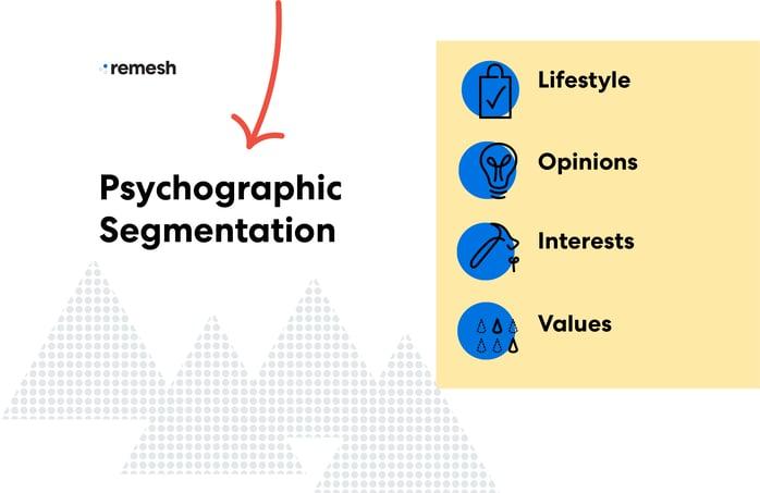 Psychographic Segmentation Visual